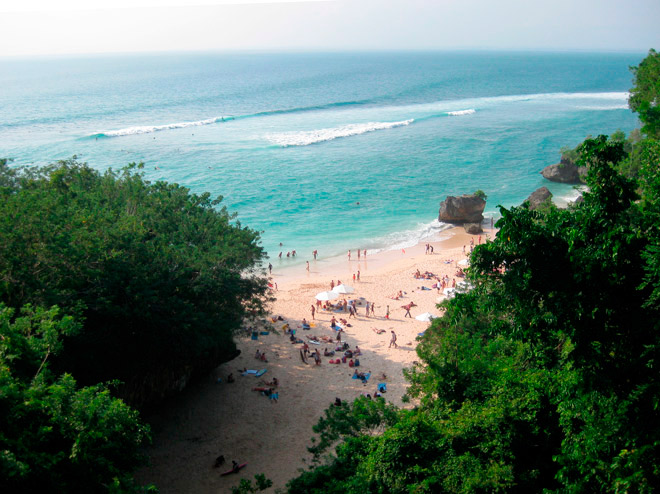 Is there more than meets the eye along Bali's Bukit Peninsula? Photo by Kathryn Bonella